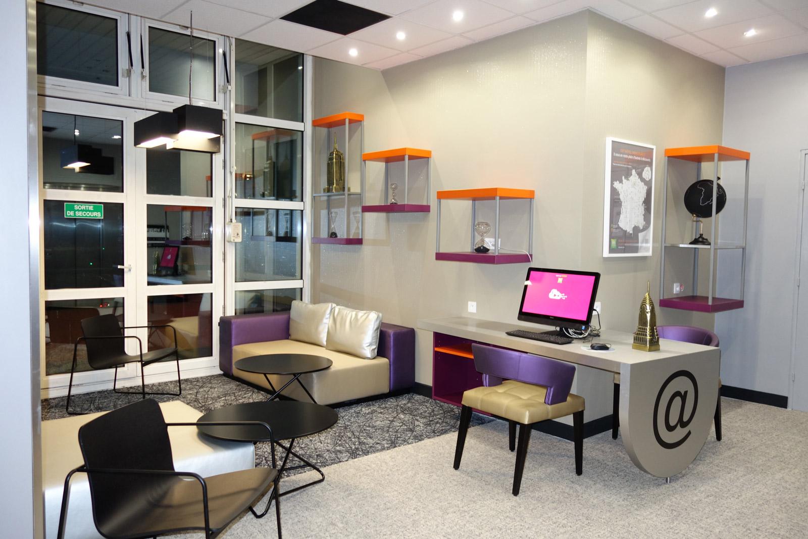 Lounge internet